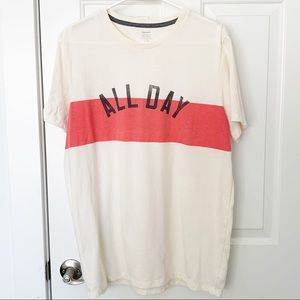 """Old Navy Large """"All Day"""" Graphic T-Shirt"""